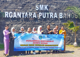 Dosen STTKD Memberikan Tips dan Trik Menghadapi Tantangan Kerja dalam Dunia Penerbangan Kepada Siswa/i SMK